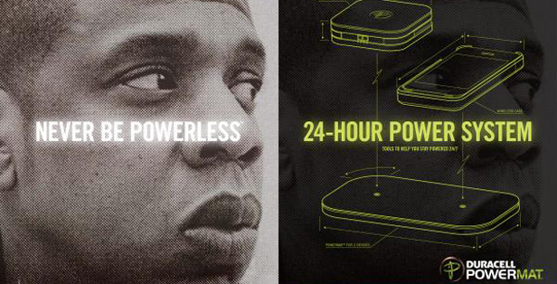 Jay-z Duracell Powermat® Campaign